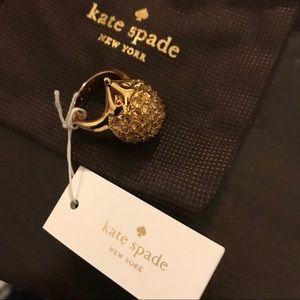 NWT Kate Spade ♠️ Hedgehog Ring Sz 7